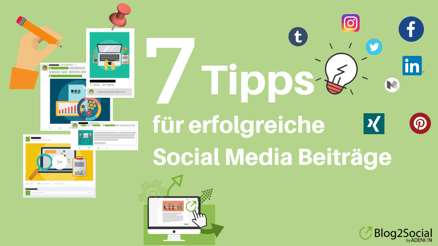 Social Media Posts 7 Tipps
