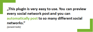 Feedback Blog2Social