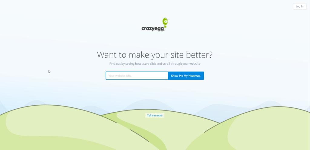 Crazyegg - Analysen und Heatmaps für die Webseiten Optimierung
