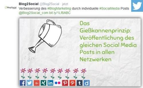 Social Media Posts individualisieren – Beispiel Twitter