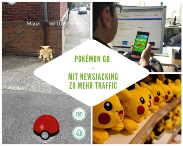 Pokémon GO mit Newsjacking zu mehr Traffic