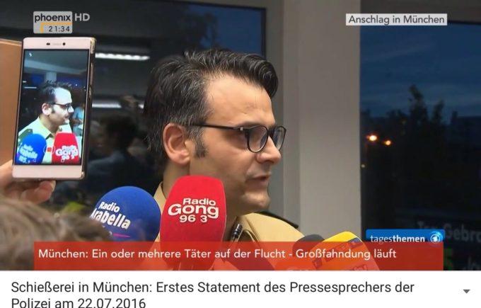 Krisen-PR der Polizei München: Pressesprecher Marcus da Gloria Martins