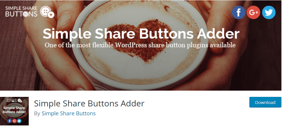 Social Media Share Buttons Plugins: Simple Share Buttons Adder