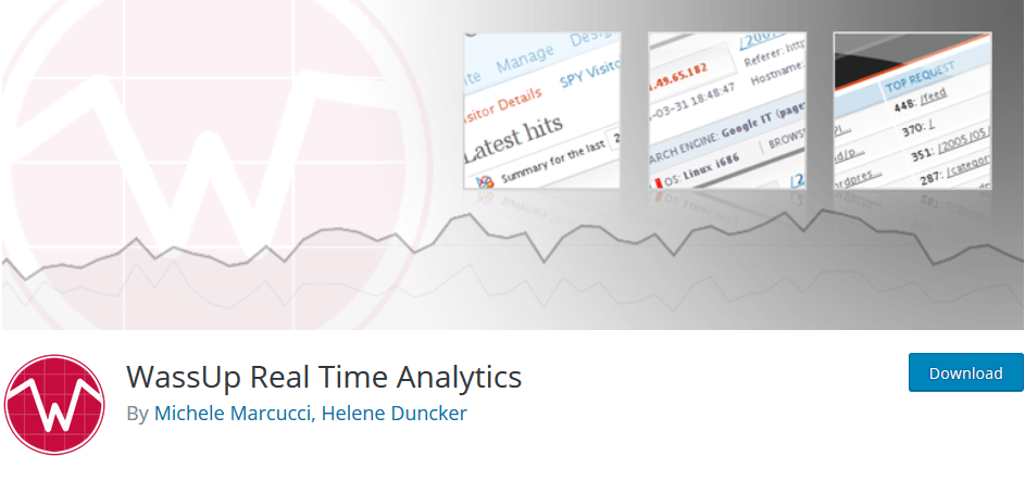 WassUp Real Time Analytics für Deinen Blog