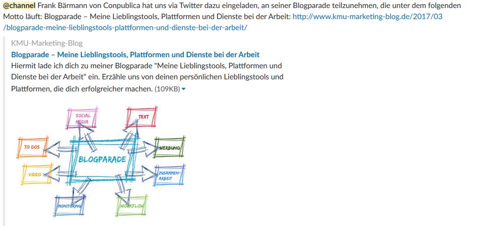 Essentielle Tools und Plugins für Corporate Blogger - Schnelle Ideenfindung mit Slack