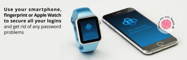 SecSign bietet eine 2048-Bit Verschlüsselung und nutzt für den Zugang entweder ein Smartphone oder eine Apple Watch.