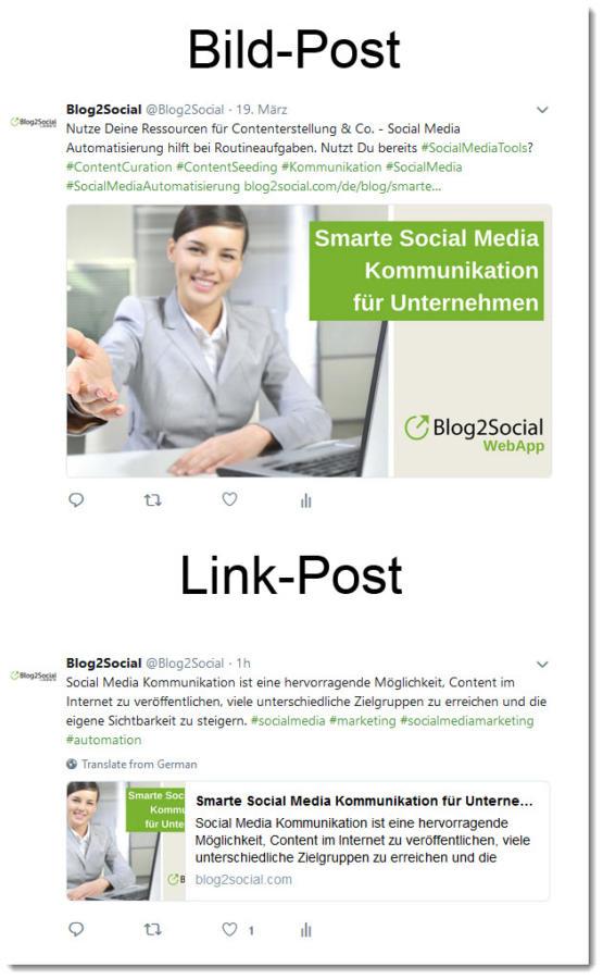 Post-Format: Image Post vs Link Post