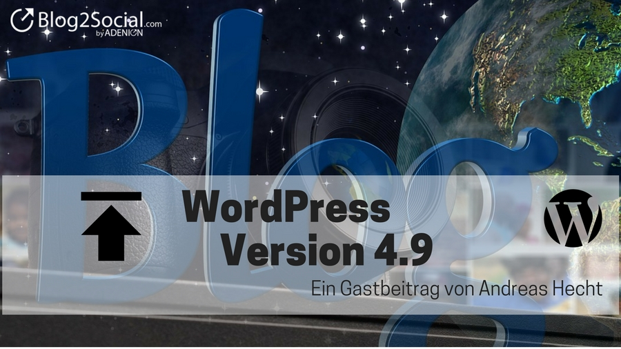 WordPress Version 4.9