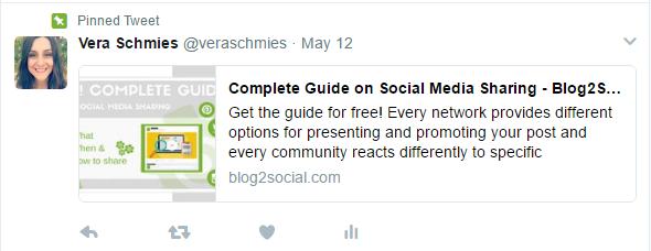 Twitter-Tipps: Angeheftete Tweets