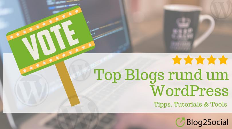 Top Blogs rund um WordPress
