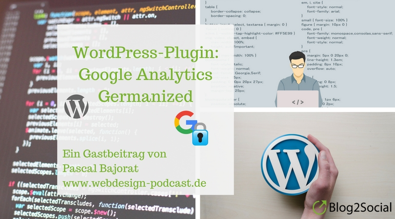 Google Analytics Germanized