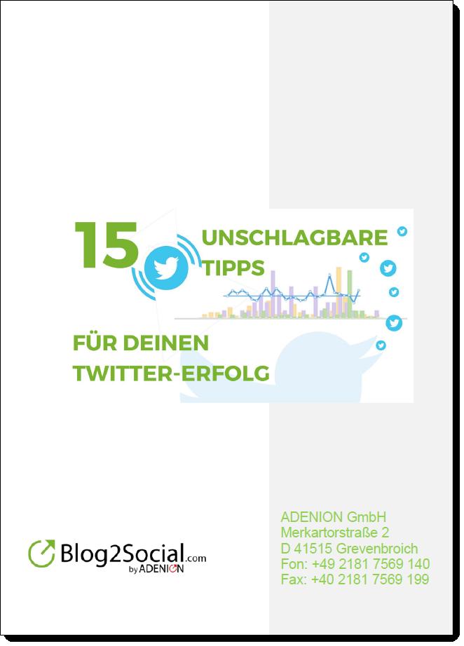 15 unschlagbare Twitter-Tipps für mehr Likes, Retweets und Kommentare auf Twitter