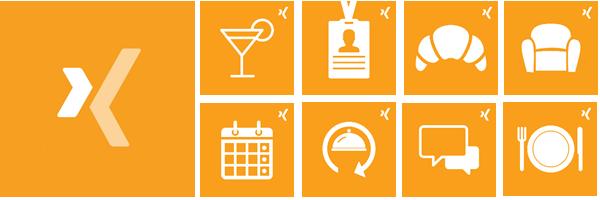 An diesen Icons erkennen Sie offizielle XING Events