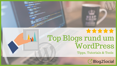 Liste top Blogs rund um WordPress