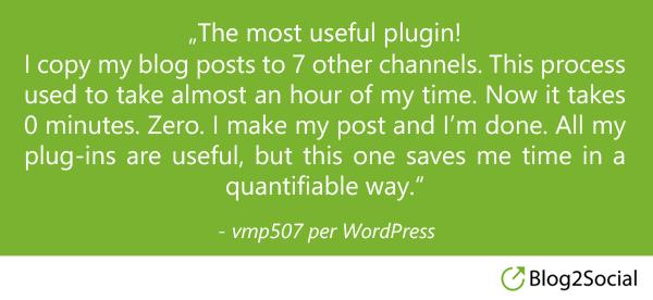 vmp507 über Blog2Social
