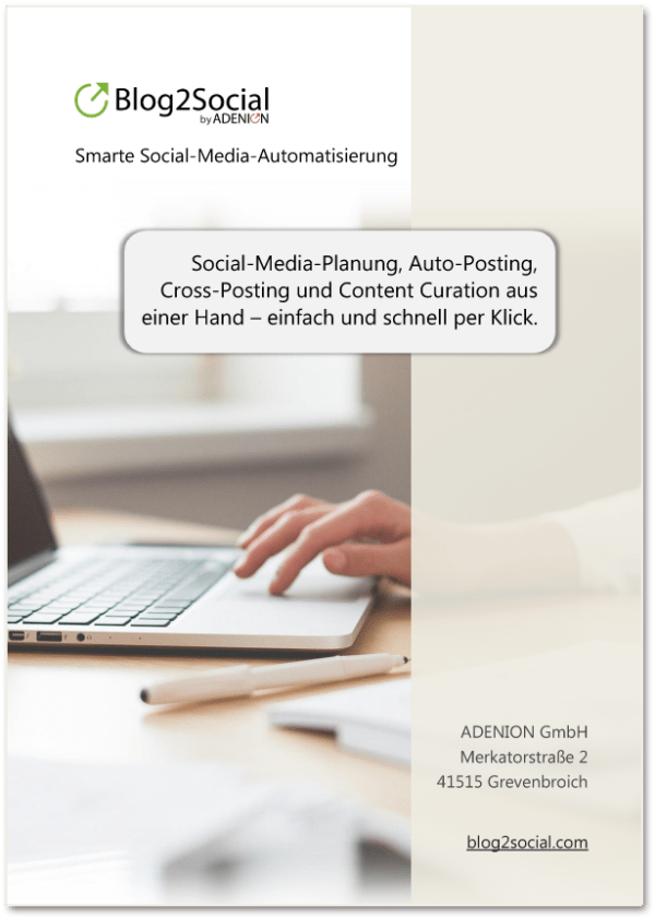 Informationsbroschüre: Leistungen und Preise