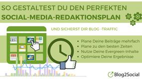 Der perfekte Social-Media-Redaktionsplan für mehr Traffic