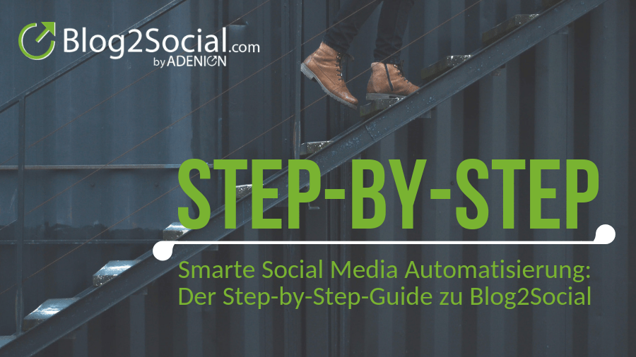 Smarte Social Media Automatisierung: Step-by-Step-Guide zu Blog2Social