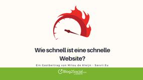 Wie schnell ist eine schnelle Website?