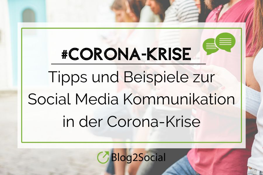 Kommunikation in der Corona-Krise