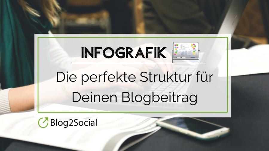 In diesem Beitrag findest Du eine Infografik und zusätzliche hilfreiche Tipps um Deinen Blogbeitrag perfekt zu machen.