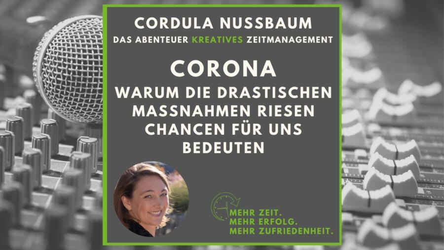 Corona als Chance Cordula Nussbaum