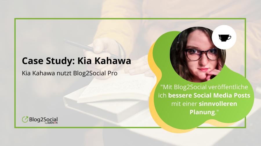 Kia Kahawa nutzt Blog2Social Pro
