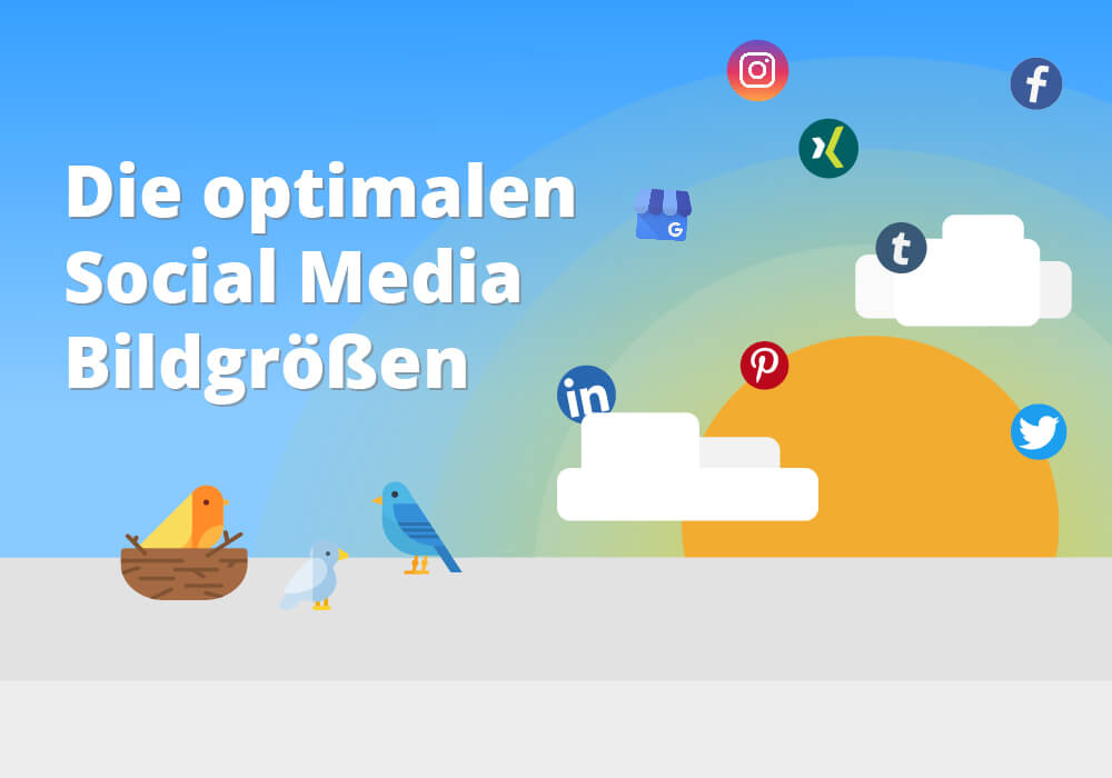Optimale Social Media Bildgrößen
