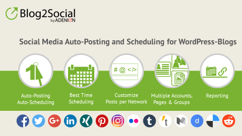 The Social Media Automation Plugin Blog2Social: Review by makeup and beatublog