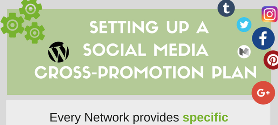 Info-Graphic: Social Media Cross-Promotion