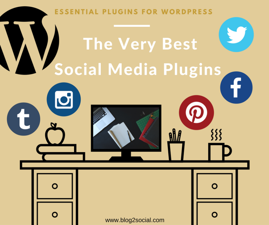 The Very Best Social Media Plugins for Wordpress