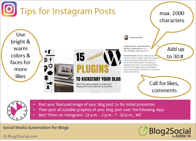 Social media sharing: How to share your blog post on Instagram