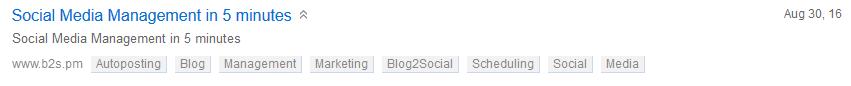 Example Post on Diigo