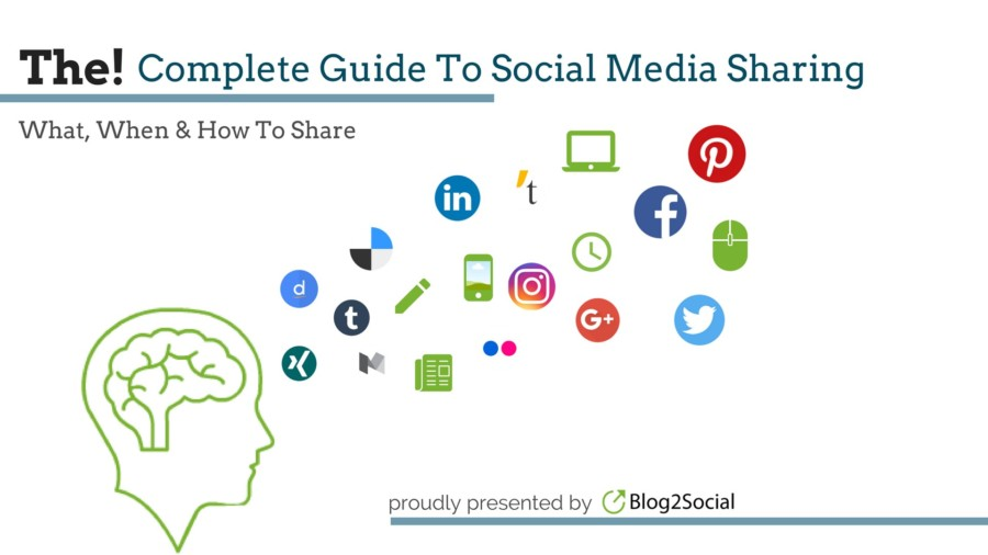 The Complete Guide To Social Media Sharing