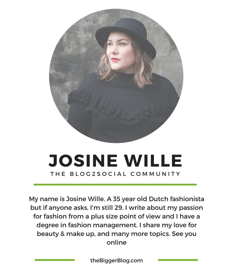 The Blog2Social Community presents: Josine Wille