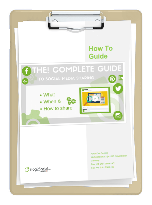 Download the Complete Guide on Social Media Sharing