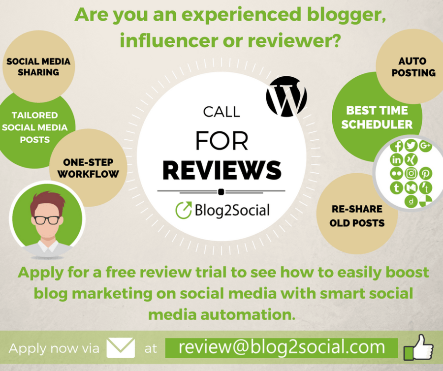 Call for Reviews - Experience the Benefits of Smart Social Media Automation