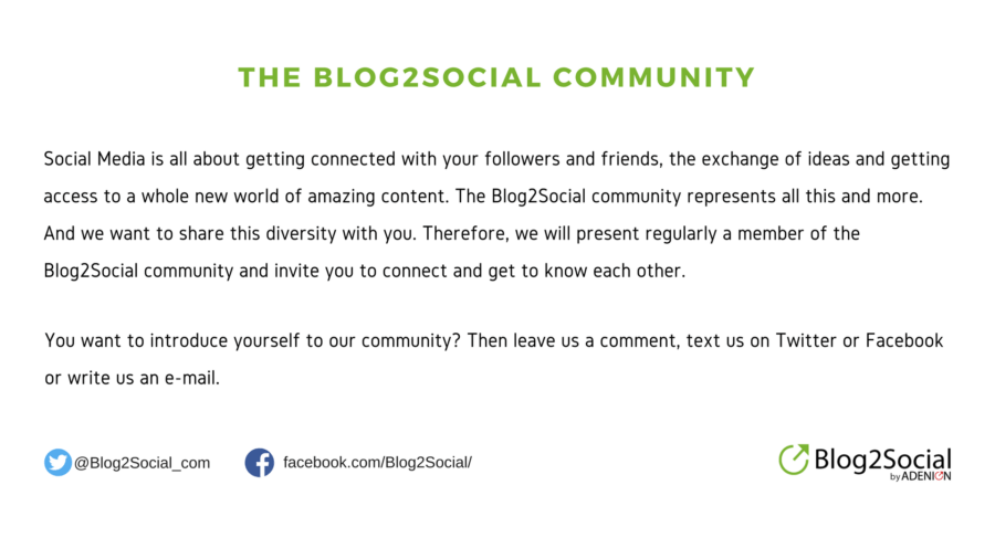 The Blog2Social Community