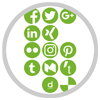 Cross-posting and cross-promoting on: Twitter, Facebook, Google+, LinkedIn, Xing, Diigo, Delicious, Instagram, Flickr, Pinterest, Tumblr, Medium,Torial and Reddit