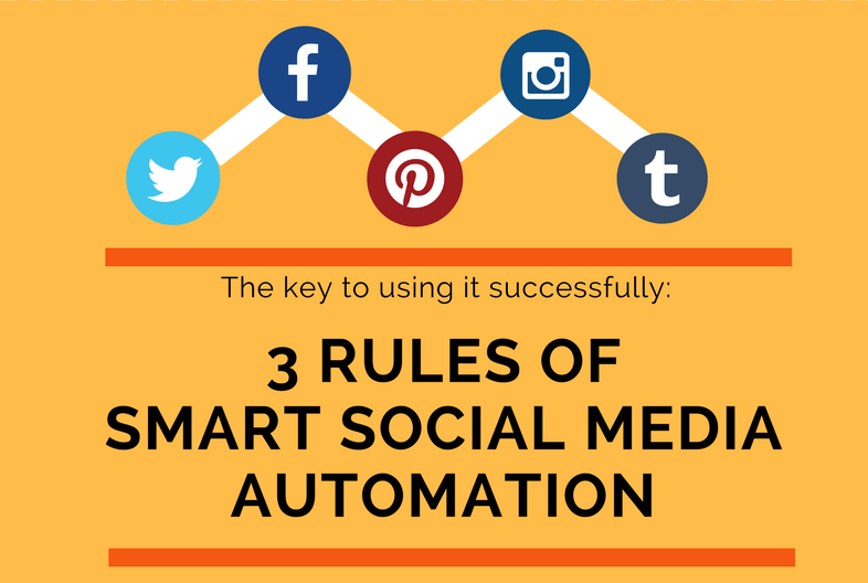 3 Rules of Social Media Automation