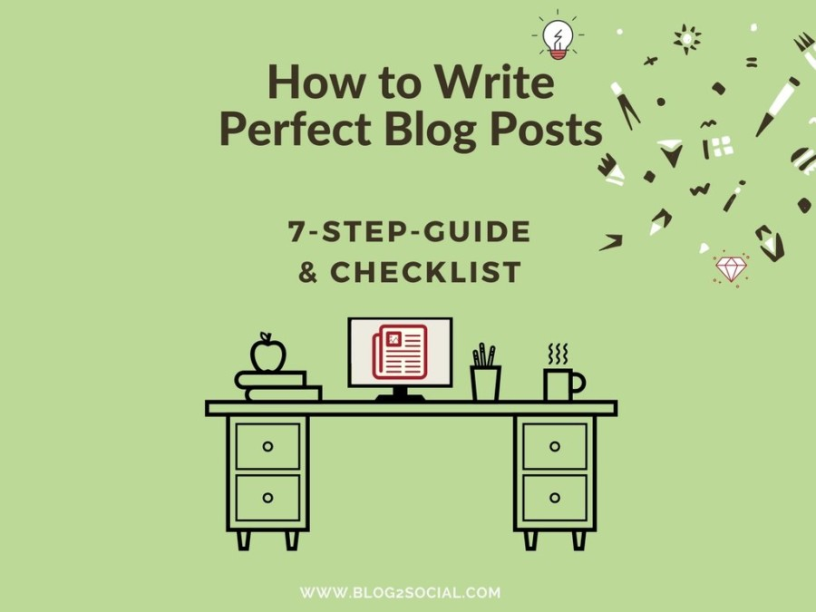 Checklist for the perfect blog post