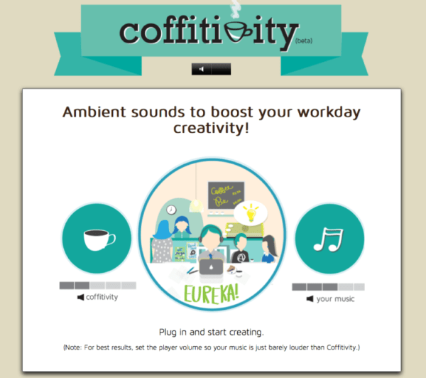 Blogging Tools: coffitivity