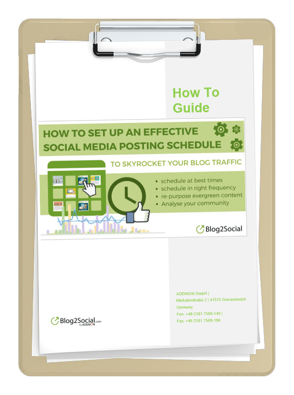 Download How To Guide: Setting up an effective Social Media Posting Schedule