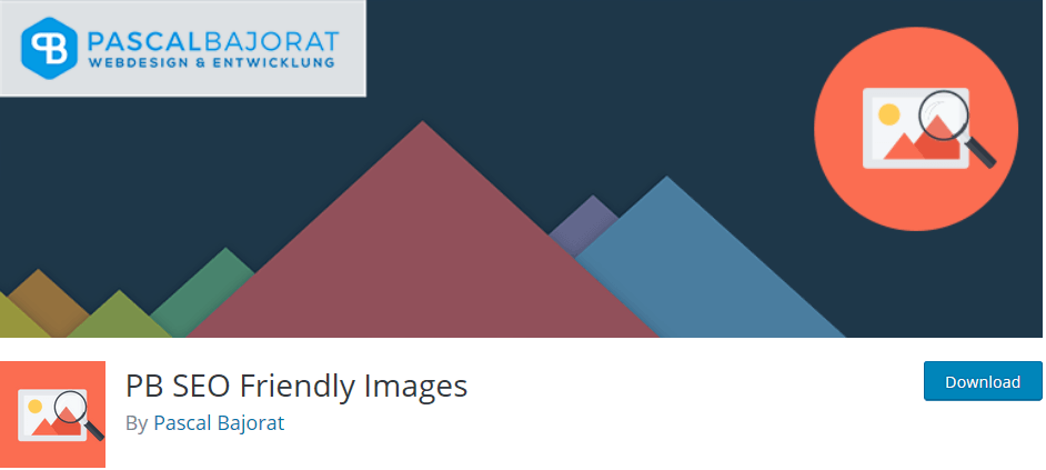 Wordpress plugin PB SEO friendly images: automatically optimize your images for the search engines
