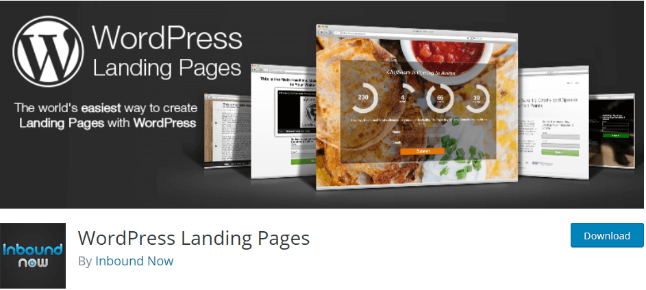 WordPress plugin WordPress Landing Pages: Lead your visitors where you want them to be.
