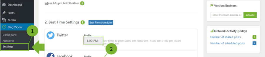 Best Time Scheduler for Twitter