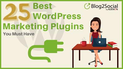 25 best WordPress marketing plugins