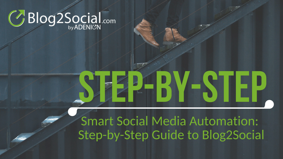 Smart Social Media Automation: Step-by-Step Guide to Blog2Social