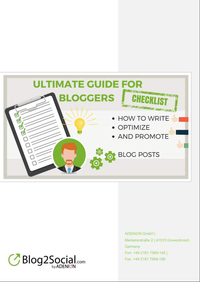 Cover Ultimate Guide for Bloggers