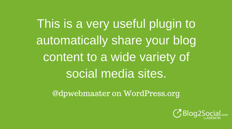 @dpwebmaster on WordPress